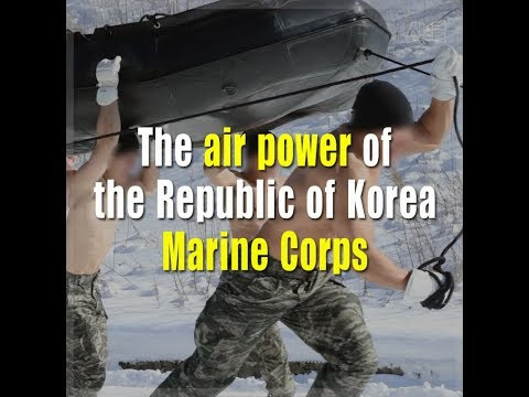The air power of the Republic of Korea Marine Corps