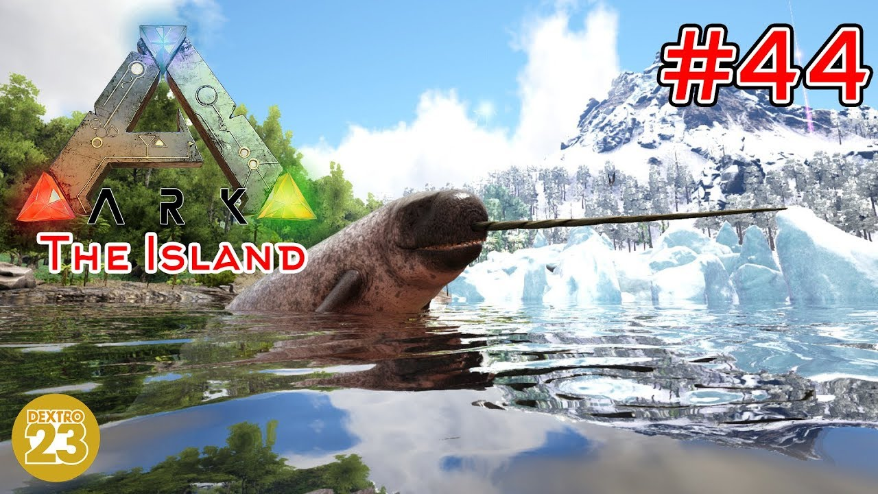 ARK The Island - Narwahl Zähmen! Voll Das Horn!