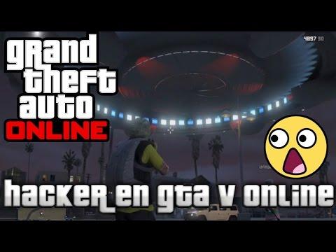 GTA V ONLINE - JUGANDO CON UN HACKER