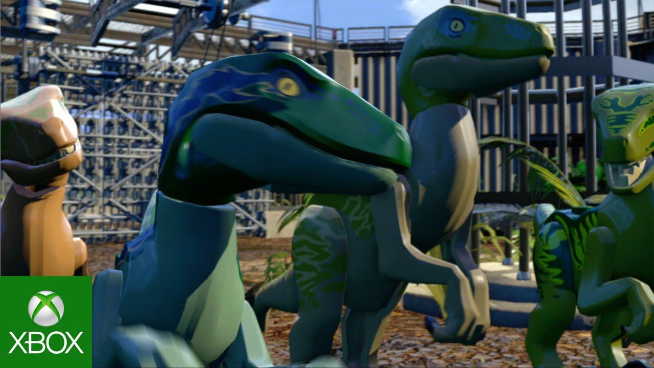 Lego Jurassic World Gameplay Trailer Youtube