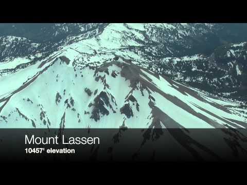 Scenic Hop 4 Part 1: Flying over Mount Lassen