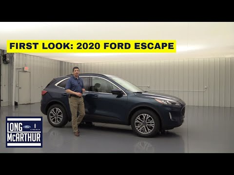 2020 FORD ESCAPE - 10 NEW THINGS YOU NEED TO KNOW