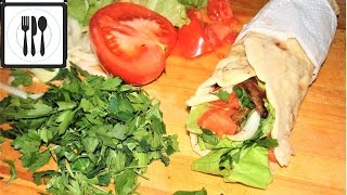 Шаурма рецепт. Как приготовить шаурму/донер кебаб/ дома. Правильная шаверма.