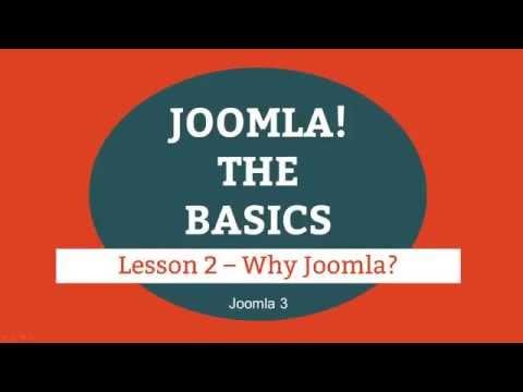 Joomla 3 Tutorial   Lesson 02   Why Joomla? (web Design)