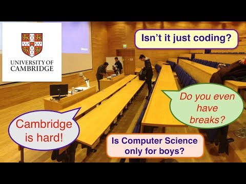 [1/2] What are lectures at Cambridge like?