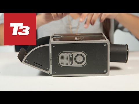 Hands on with the Smartphone Projector