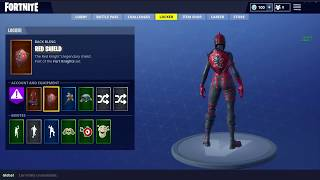 (PC) SELLING MY FORTNITE ACCOUNT | RED KNIGHT & MAKO GLIDER