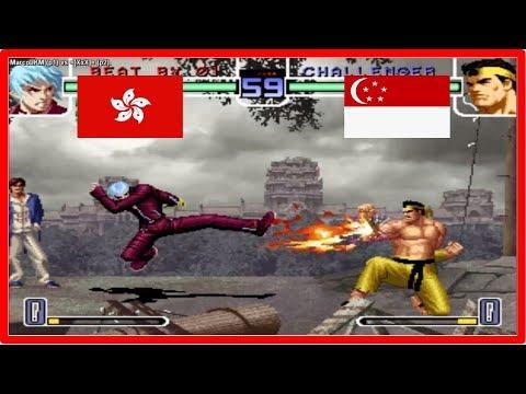Kof 2002 - MarcoLKM (hong kong) vs =[XxX]= (Singapore) Fightcade