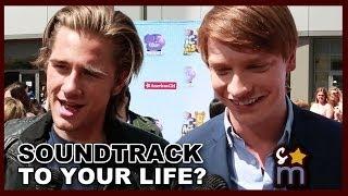 Celebs Reveal Soundtrack to Their Lives? - Calum Worthy, Luke Benward, Kelli Berglund