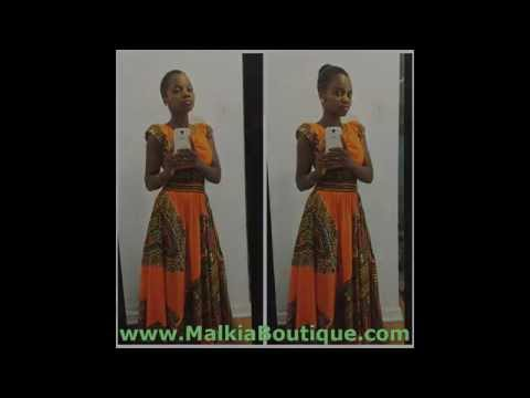 African Clothing African prints Malkia Boutique African fashion