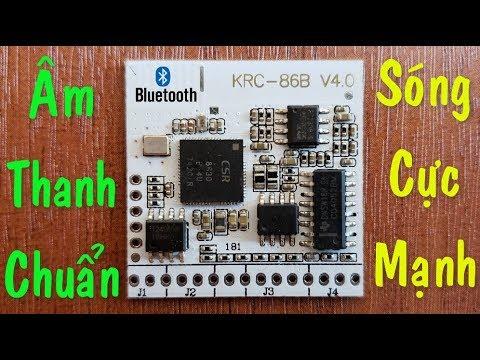 Mạch Bluetooth, KRC – 86B V4.0, Sóng Mạnh Âm Thanh Trung Thực ✔