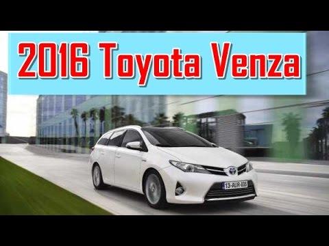 2016 Toyota Venza Redesign Interior And Exterior
