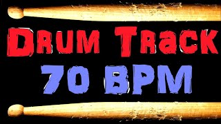 Drum Backing Track Blues Beat 70 BPM Bass Guitar Backing Track Free MP3
