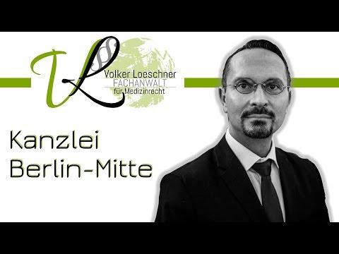 Kanzlei Für Zahn- Und Medizinrecht In Berlin-Mitte | Rechtsanwalt Volker Loeschner