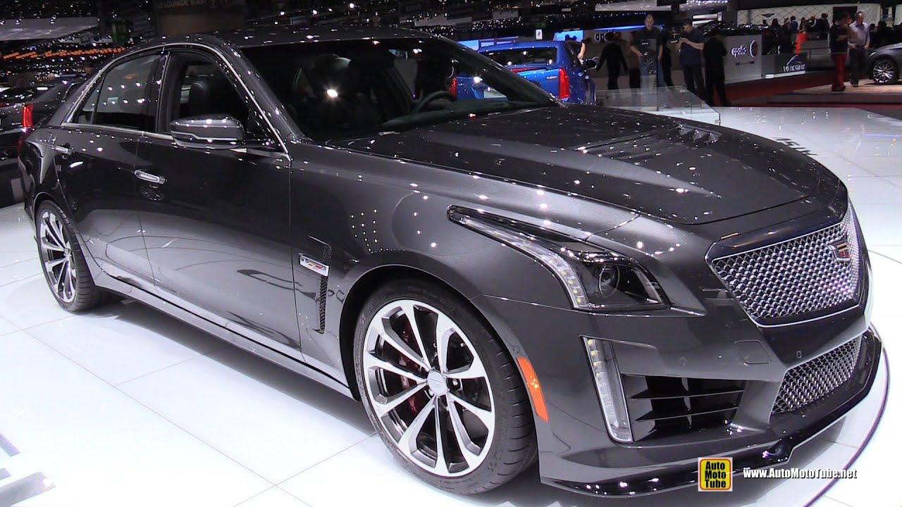 2016 Cadillac Cts V Exterior And Interior Walkaround 2017 Geneva Motor Show You