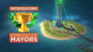 SimCity BuildIt Contest of Mayors Update