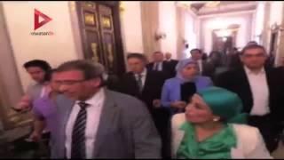 بالفيديو| خروج خالد يوسف و