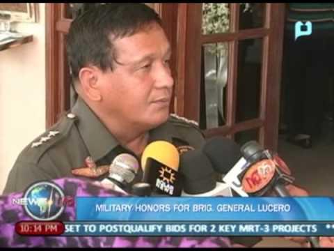 NewsLife: Military honors for Brigadier General Daniel Lucero