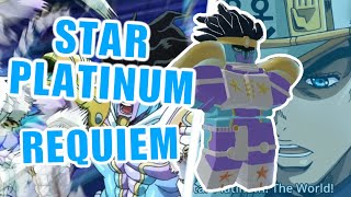 Star Platinum Requiem(SPTW) SHOWCASE [Your Bizarre Adventure] YBA
