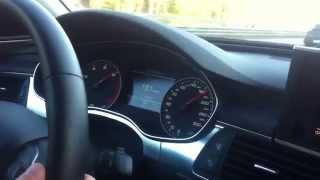 Разгон Audi A6 (C7) 2.0 TFSI AT Revo St1 (60-220км/ч)