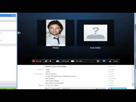 How to get your headset to work on skype (For Walter)