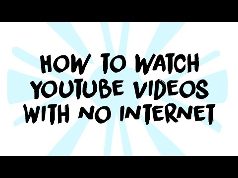 How to watch youtube videos with no internet connection (Turtles Techy Tutorials)