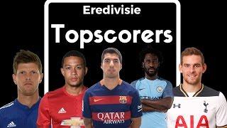 Eredivisie topscorers 2007-2017