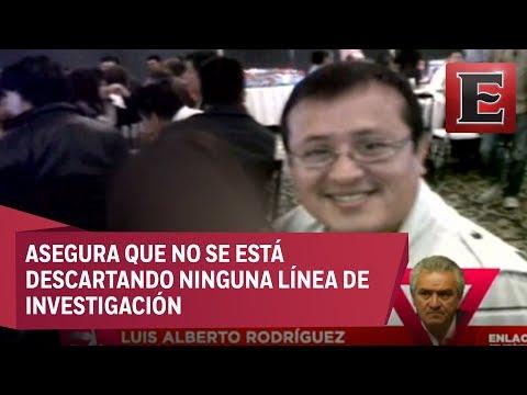 Luis Alberto Rodríguez habla del asesinato del periodista Héctor Rodríguez