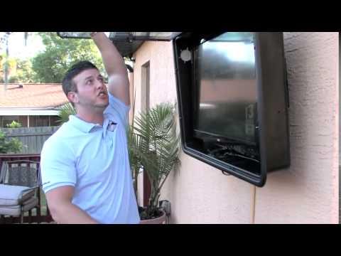 Value Av The Tv Shield Outdoor Tv Cover Water Amp Durability