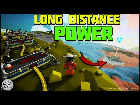 Long Distance Base POWER! New Extenders ! Astroneer Base Building Update 6.0 E2 | Z1 Gaming