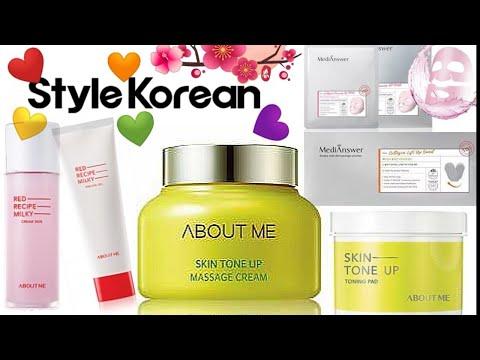 Корейская косметика ❤️ уход, очищение, маски ❤️ABOUT ME от Style Korean 🇰🇷 лифтинг пластыри ❤️