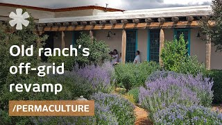 Former New Mexico ranch as off-grid conservation easement
