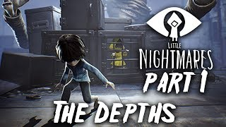 LITTLE NIGHTMARES INTO THE DEPTHS DLC Gameplay Walkthrough Part 1 (Secrets of The Maw)