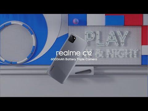 realme C12   6000mAh Battery Triple Camera