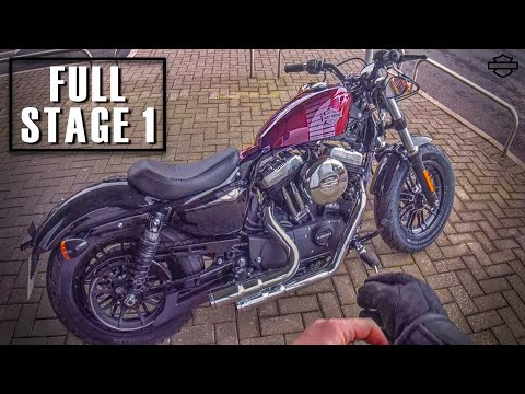 2015 Harley Sportster 48 Forty Eight 1200 Mods Big Ra
