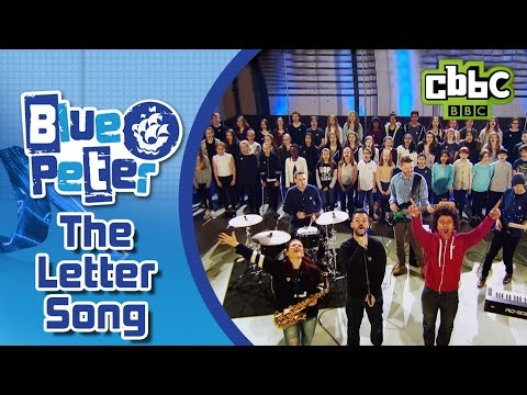 The Letter Song on Blue Peter - CBBC