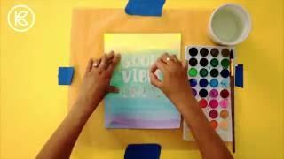 DIY Watercolor Art I Kin Community