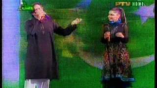 Nishta dildar nishta Pashto song Irfan khan feat Hadiqa kiani ptv