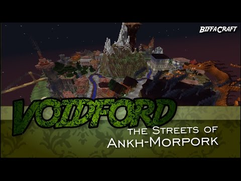 Streets of Ankh Morpork