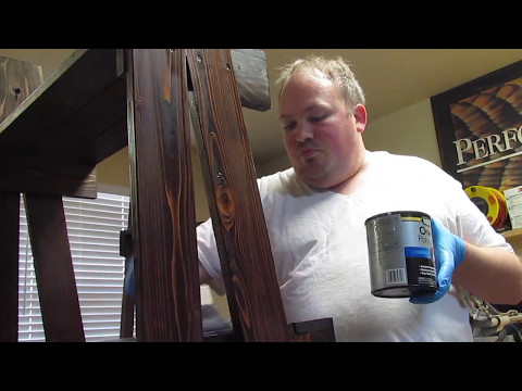 Time-lapse - Country Ladder Shelves