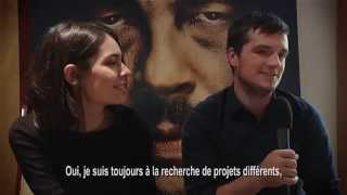 New interview of Claudia Traisac and Josh Hutcherson in Paris