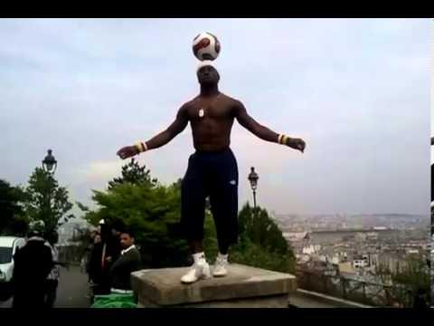 Champion du monde du Football-freestyle