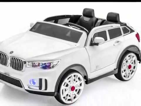 bmw x7 voiture pour les enfants avec 2 places lumi res musique ouverture des portes et youtube. Black Bedroom Furniture Sets. Home Design Ideas