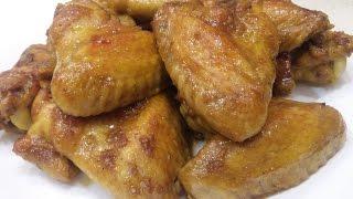 ВКУСНЕЙШИЕ КУРИНЫЕ КРЫЛЫШКИ. Куриные крылышки в медово-соевом соусе. Вкусный маринад для курицы.