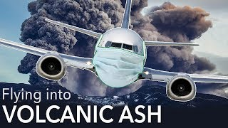 Volcanic ash! How do pilots deal with it?