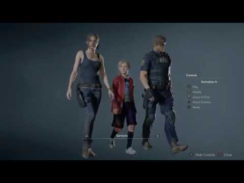 Resident Evil 2 Remake 72 Models Unlocked Showcase 1440p Youtube