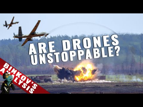 Are combat drones changing warfare? And how to stop them?