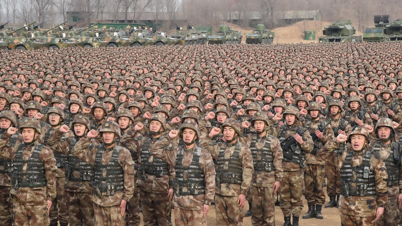 Image result for chinese military might images