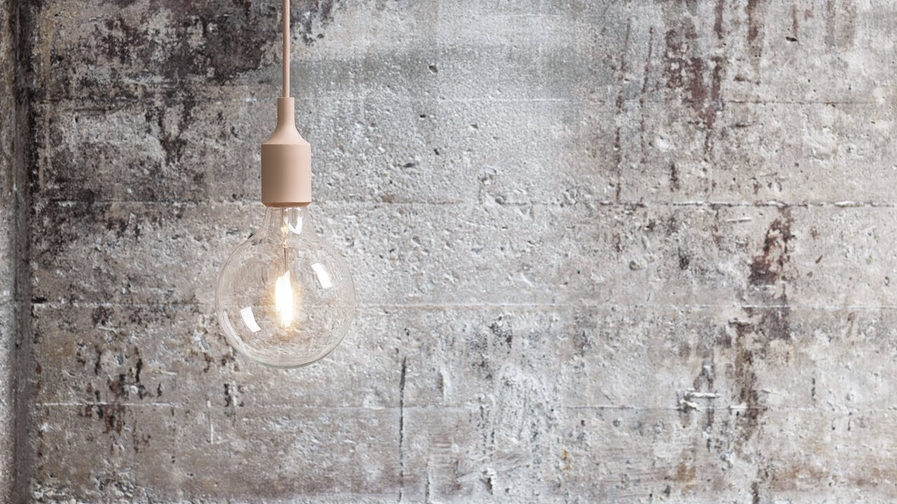 E27 pendant lamp by taf for muuto youtube e27 pendant lamp by taf for muuto aloadofball Choice Image