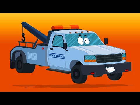 Remorqueur | Zobic | Véhicules pour gamins | Vehicles For Kids | Learn Transportation | Tow Truck